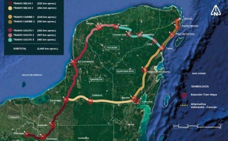 Organizaciones y colectivos publican su rechazo a la construcción del Tren Maya
