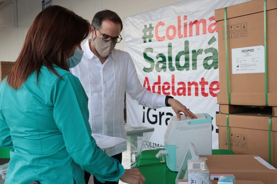 Ventiladores comprados por Colima llegarían… ¡Hasta después del pico de la pandemia!
