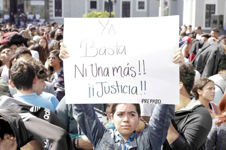 Acumula Jalisco 106 asesinatos de mujeres