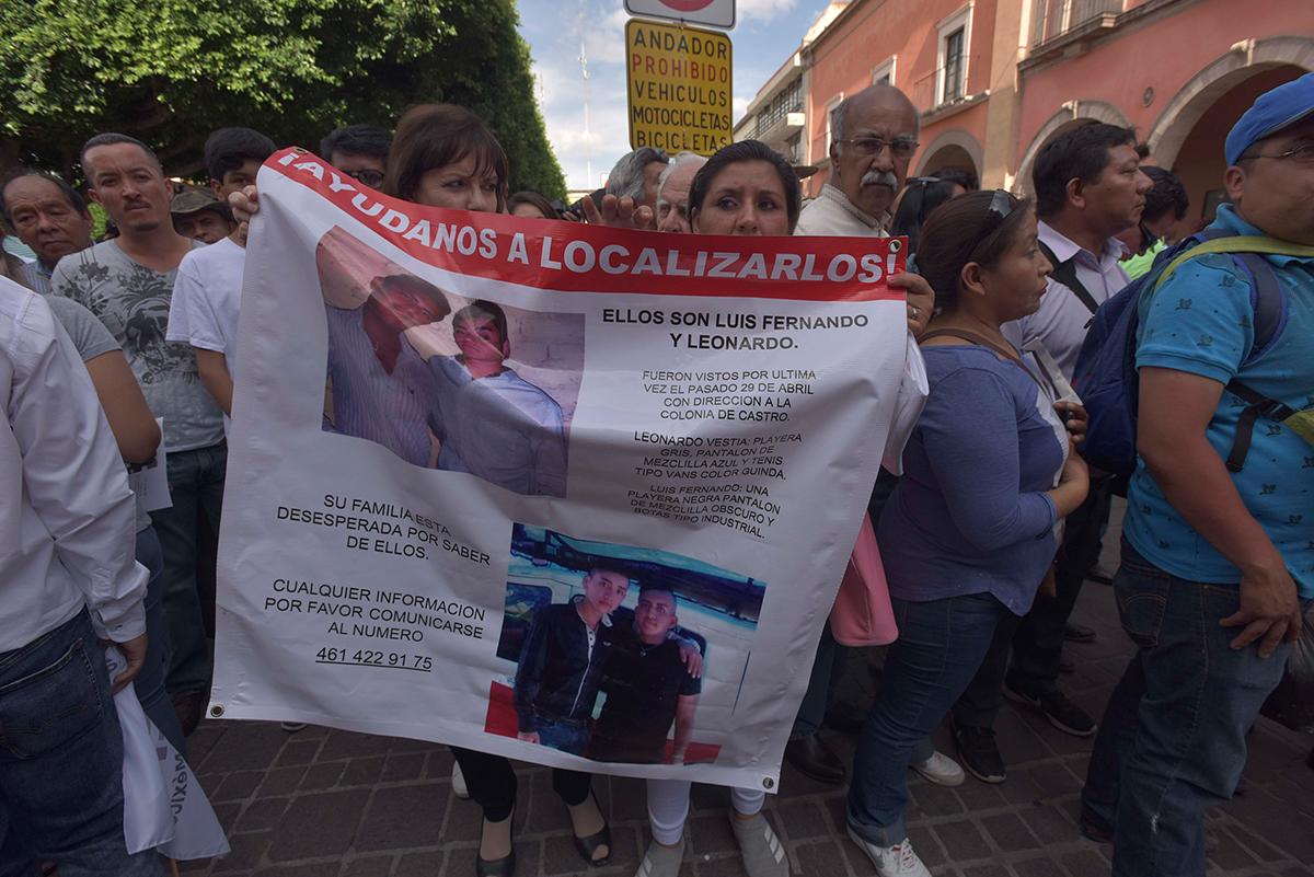 Exigen reglas claras para nombrar al titular de la Comisión de Búsqueda de Guanajuato