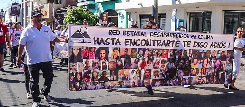 Búsqueda de desaparecidos da preferencia a personajes (Colima)