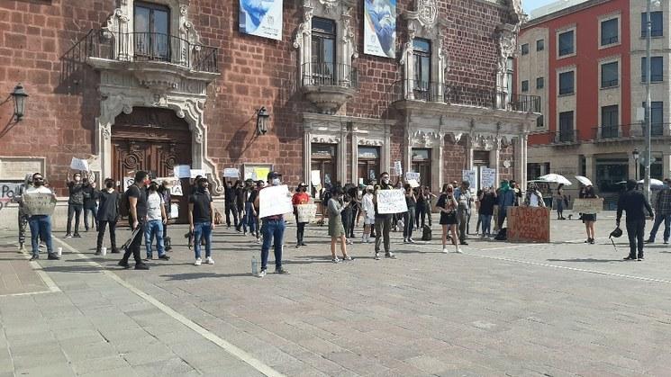 Hacen eco en Aguascalientes a la exigencia de justicia para Giovanni