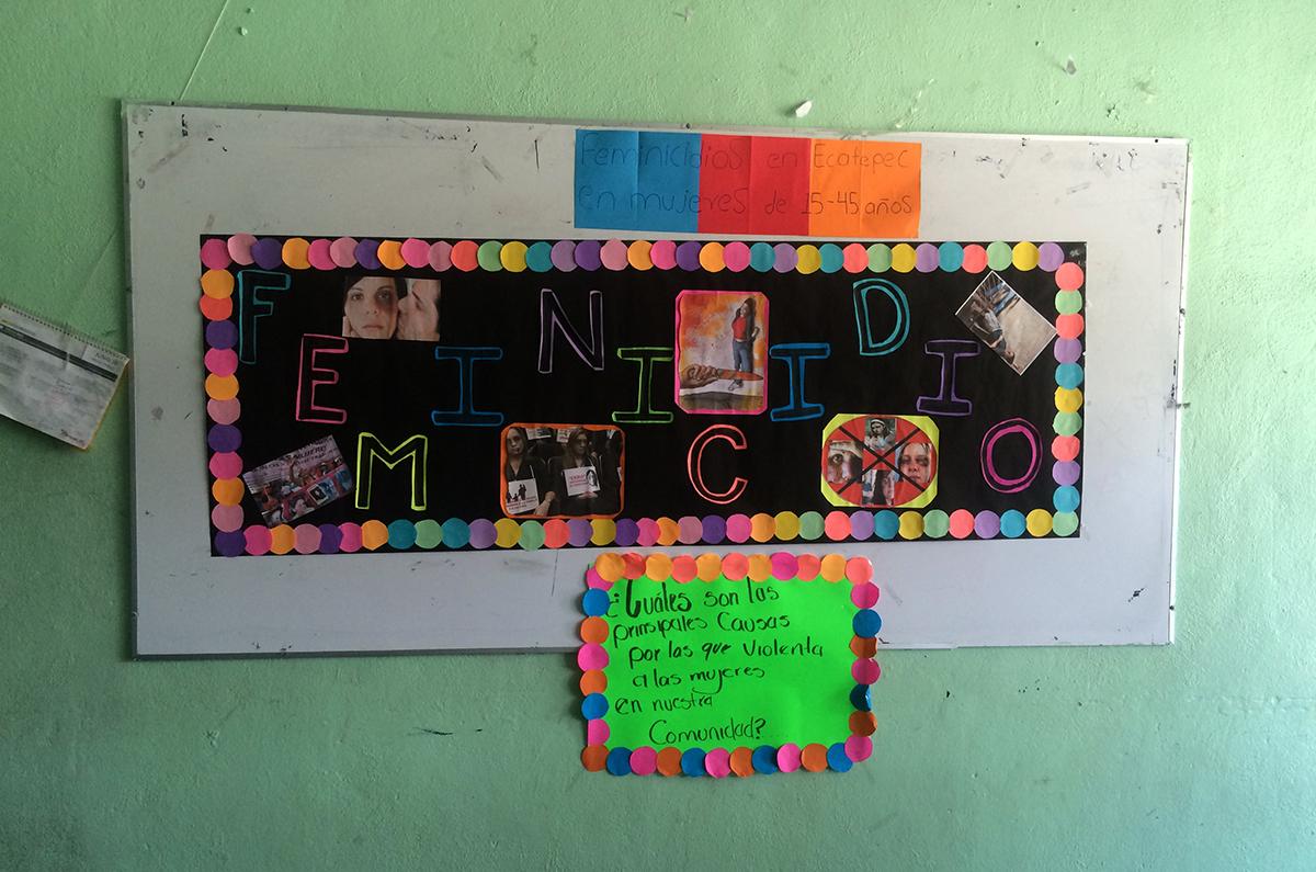 Alto a la violencia feminicida, exigen organizaciones de la periferia del Valle de México (Estado de México)