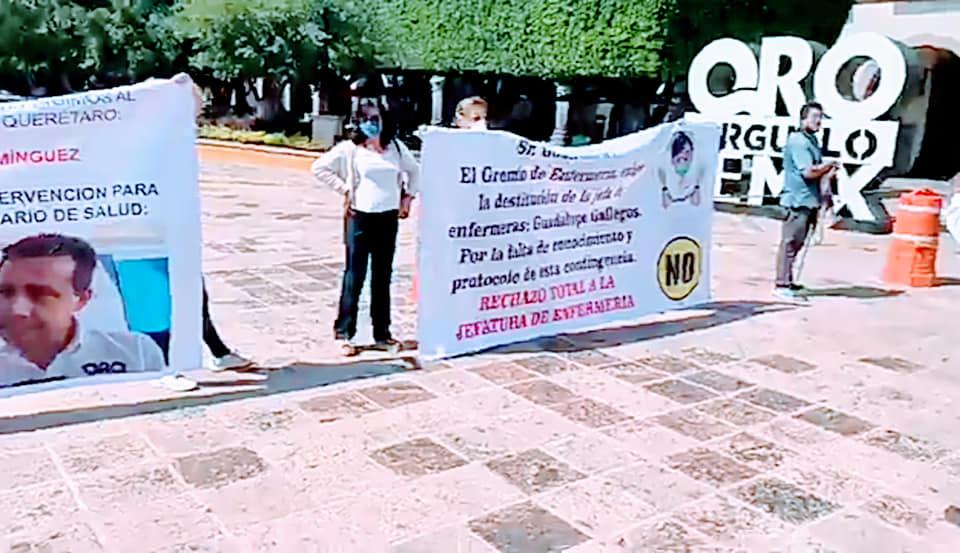 Enfermeras y Doctores exigen mejores insumos médicos (Querétaro)