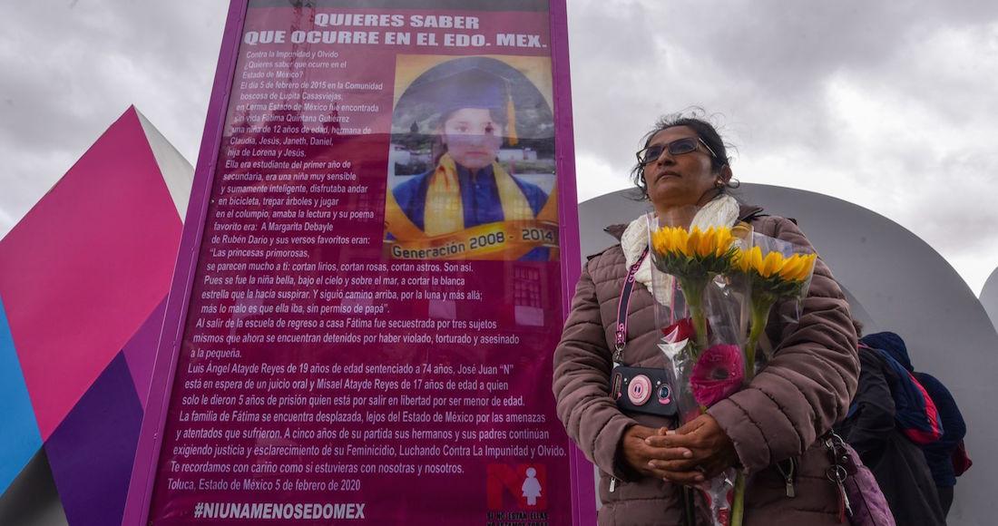 Fátima cumpliría hoy 18 años, pero 3 hombres la mataron hace 5. Su familia exige justicia en el exilio (Estado de México)
