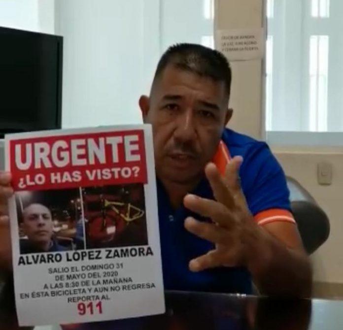 Familiares y amigos se organizan para buscar a ciclista desaparecido el pasado 31 de mayo (Colima)