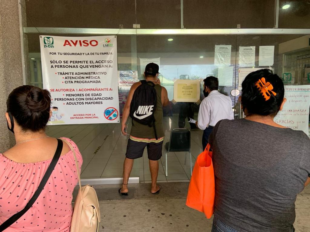 Paro de labores en el IMSS; cierran la 170 y la 42, piden apoyos (Jalisco)