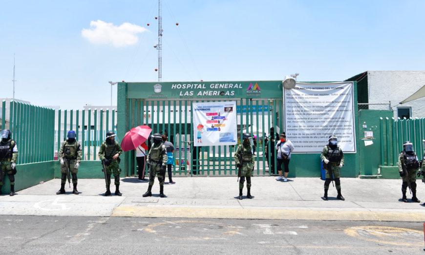 Ganan amparo 33 médicos que serían reubicados en hospitales covid-19 del Estado de México
