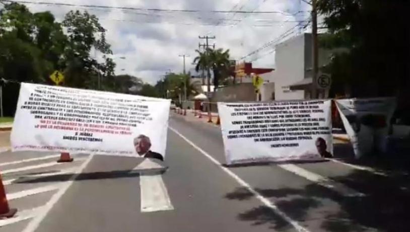 Jubilados de Pemex exigen ser atendidos en el ISSSTE de Mérida