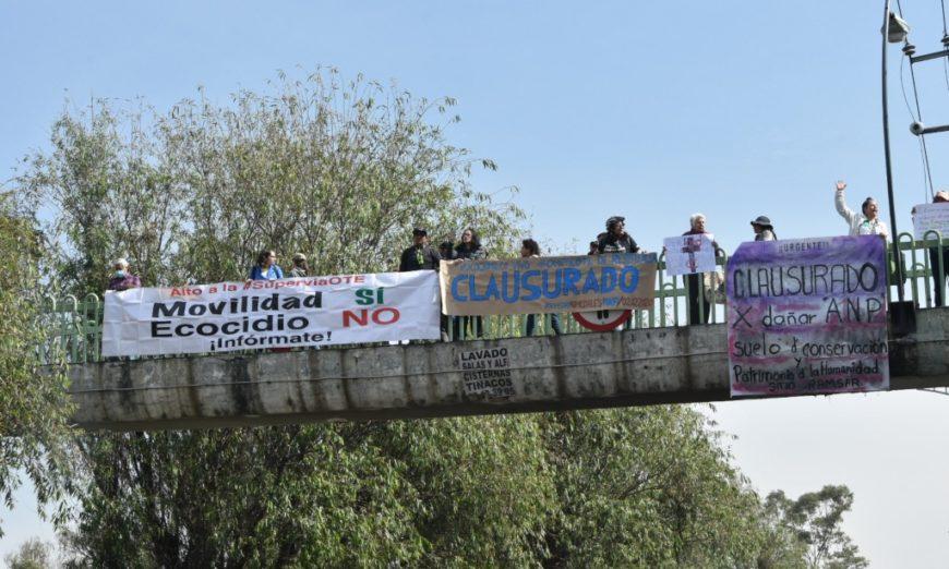 Juez da luz verde para continuar con la construcción del puente vehicular de Xochimilco (Ciudad de México)