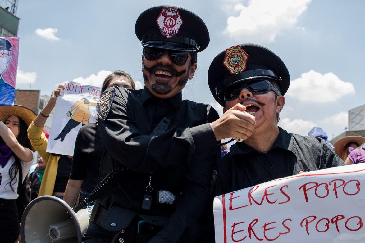 Once días de filtraciones sobre violencia sexual de la policía (Ciudad de México)