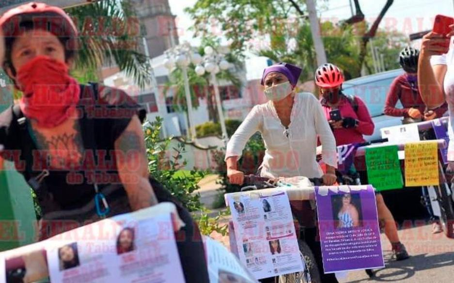 Colectivos piden cuentas a la FGR sobre más de 200 mujeres desaparecidas en Tabasco