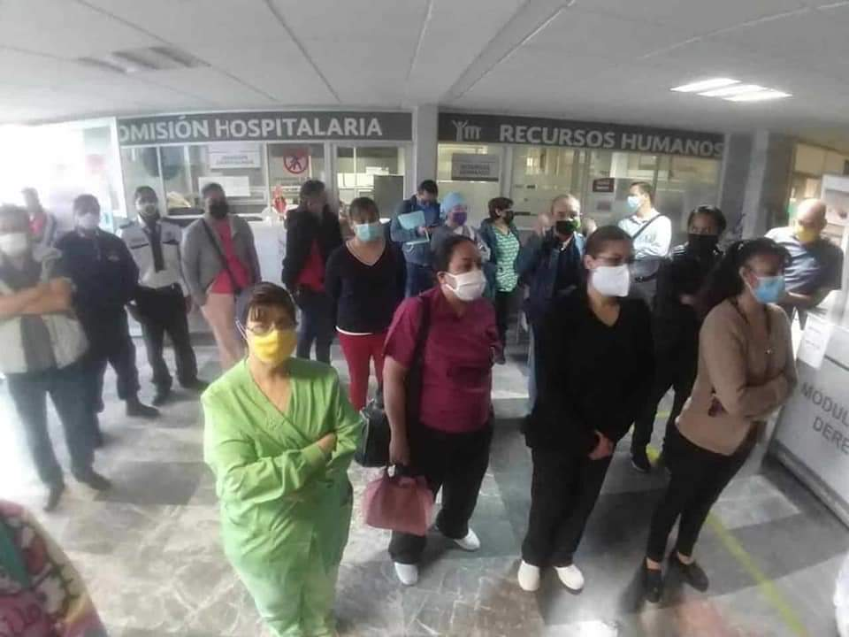 Personal médico realiza paro de labores en el ISSSTE  (San Luis Potosí)