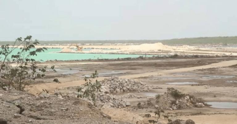"""Empresa ecocida Calica se """"disfraza"""" de Sac-Tun (Quintana Roo)"""