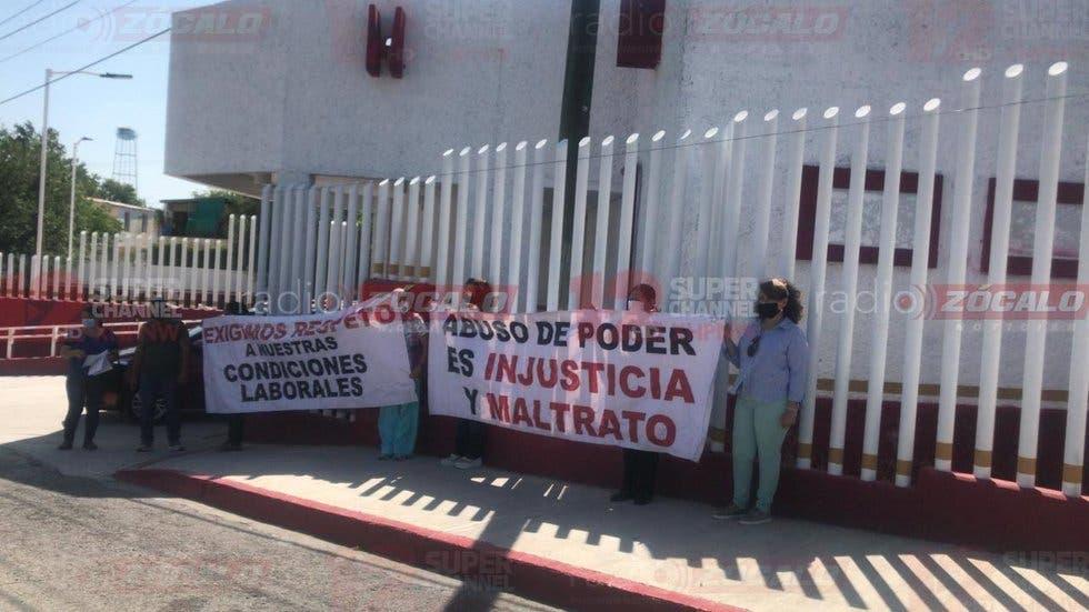Denuncian trabajadores del ISSSTE Piedras Negras a funcionarios por abuso de autoridad y amenazas (Coahuila)