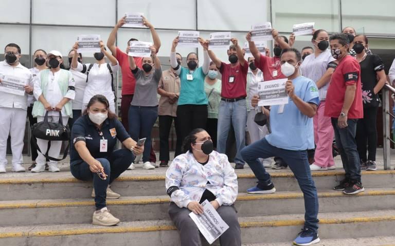 Bono de Covid-19 no llegó a Zapopan; trabajadores de la Salud piden bases (Jalisco)