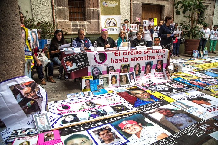 Pese a que hay unas 500 personas desaparecidas; Murat no nombra titular para búsqueda (Oaxaca)