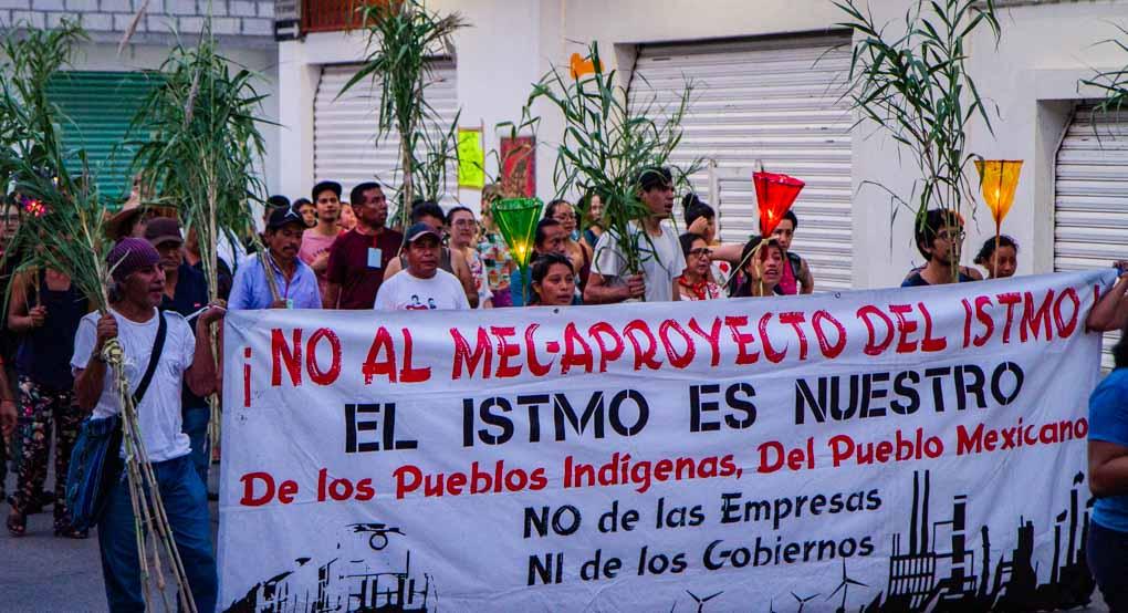 Se fortalece frente de resistencia indígena contra construcción de Tren Transístmico (Oaxaca)