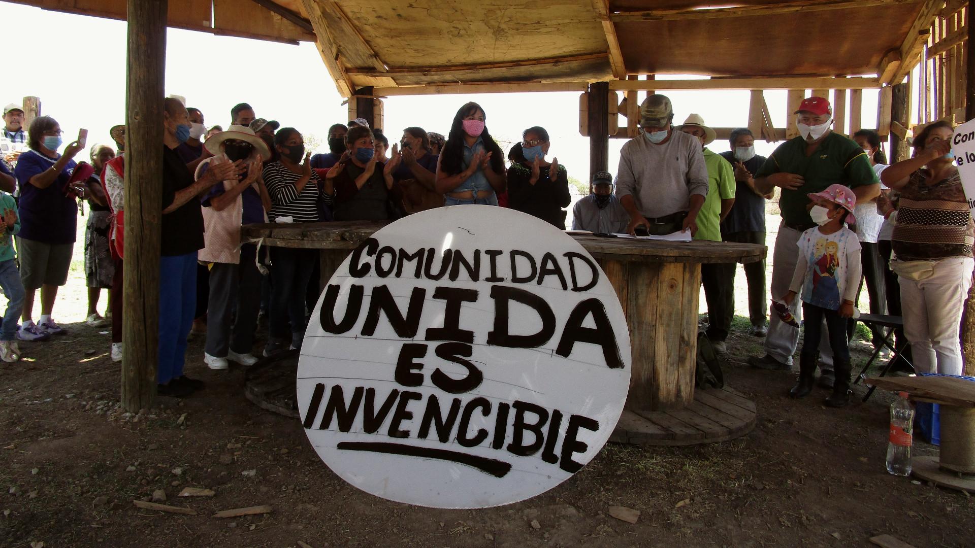 Se organiza comunidad en León para resistir despojo e industrialización forzada