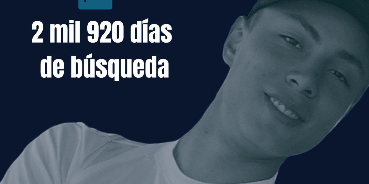 """""""Sólo quiero que me digan dónde está mi hijo"""": el clamor de una madre tras 2 mil 920 días de búsqueda (Jalisco)"""