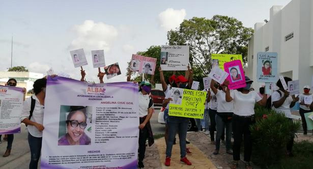"""""""Ya pasó mucho tiempo… necesitamos saber"""": Reclaman avances en la investigación de la desaparición de Angelina Chuc en Playa del Carmen"""