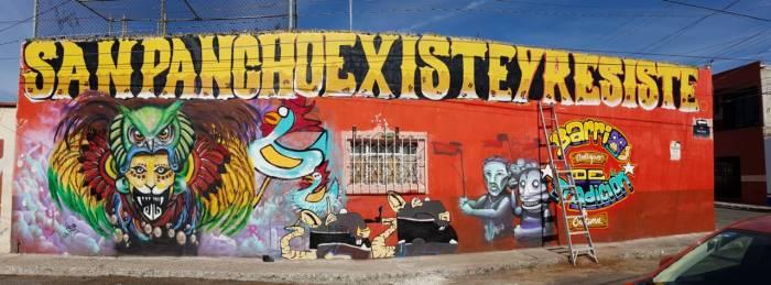 EL ARTE Y EL TERRITORIO: MURALISMO EN SAN FRANCISQUITO (Querétaro)