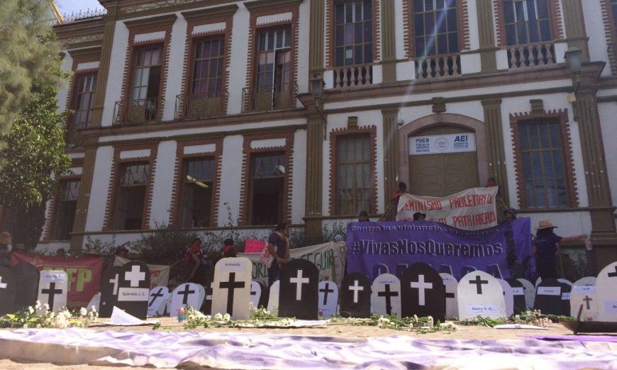 Consorcio Oaxaca documenta 23 feminicidios en el primer trimestre de confinamiento