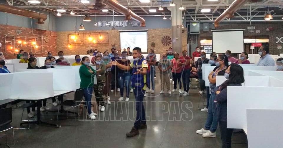 Paran labores trabajadores de la maquiladora BD BARD en Reynosa (Tamaulipas)