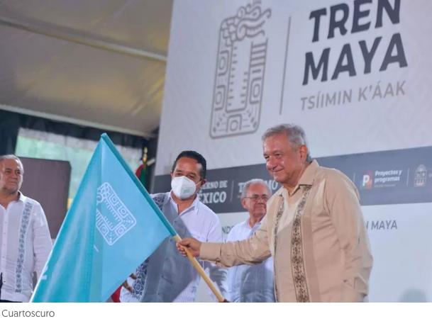 Invitaciones y adjudicaciones directas: la ruta del Tren Maya