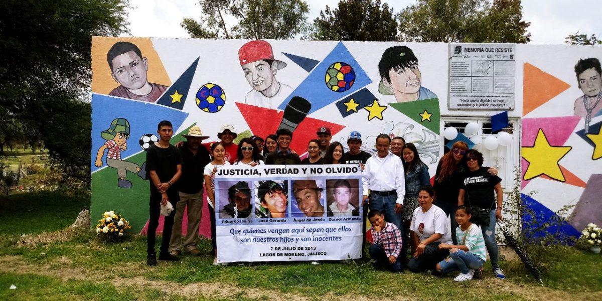 Siete años exigiendo justicia, verdad y memoria por los siete de Lagos de Moreno (Jalisco)