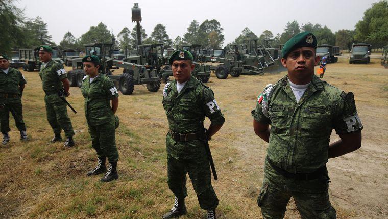 Para tareas encargadas por AMLO: 45,682 militares