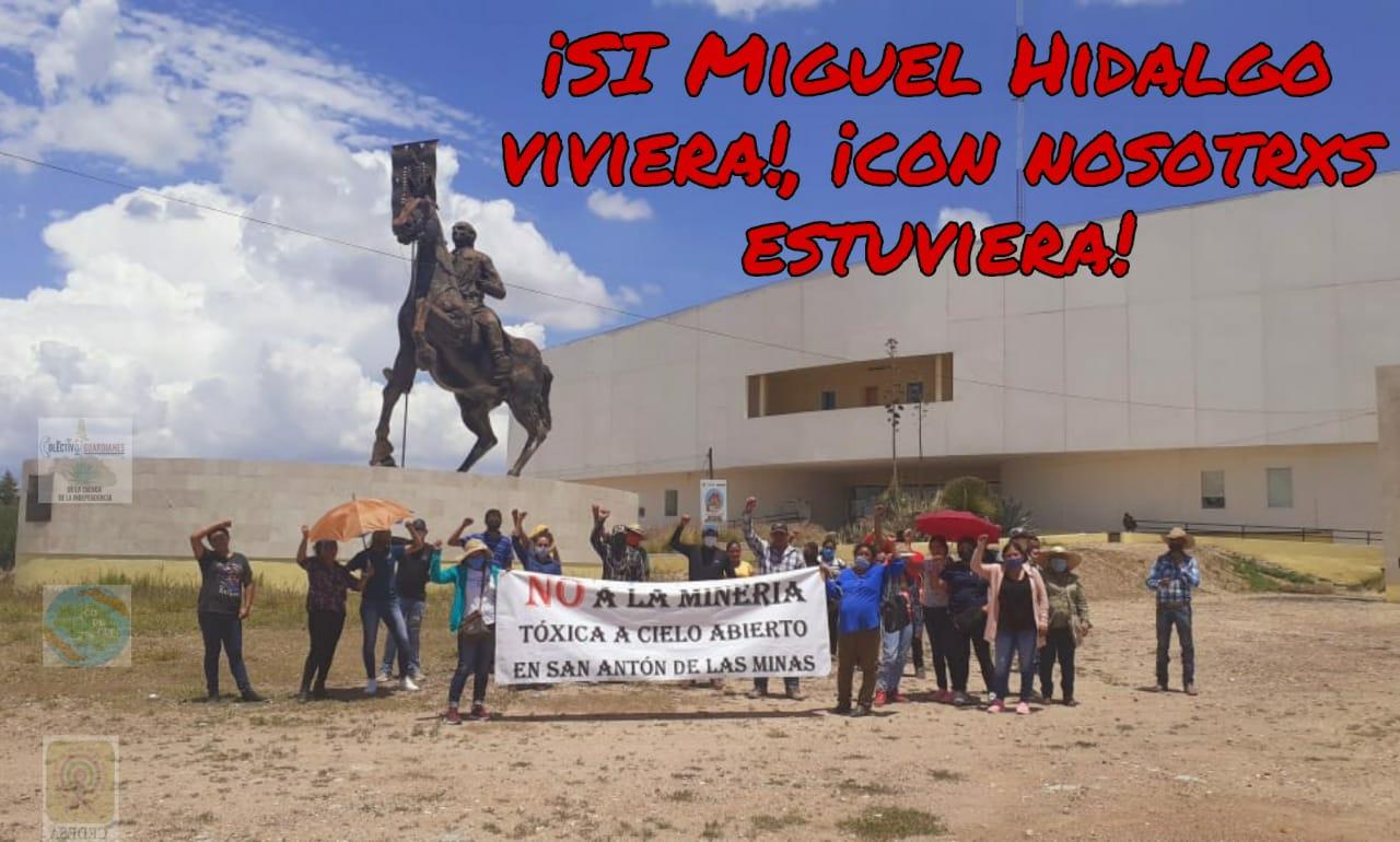 """Manifestación Virtual """"No a la Mina"""" En Dolores Hidalgo  (Guanajuato)"""