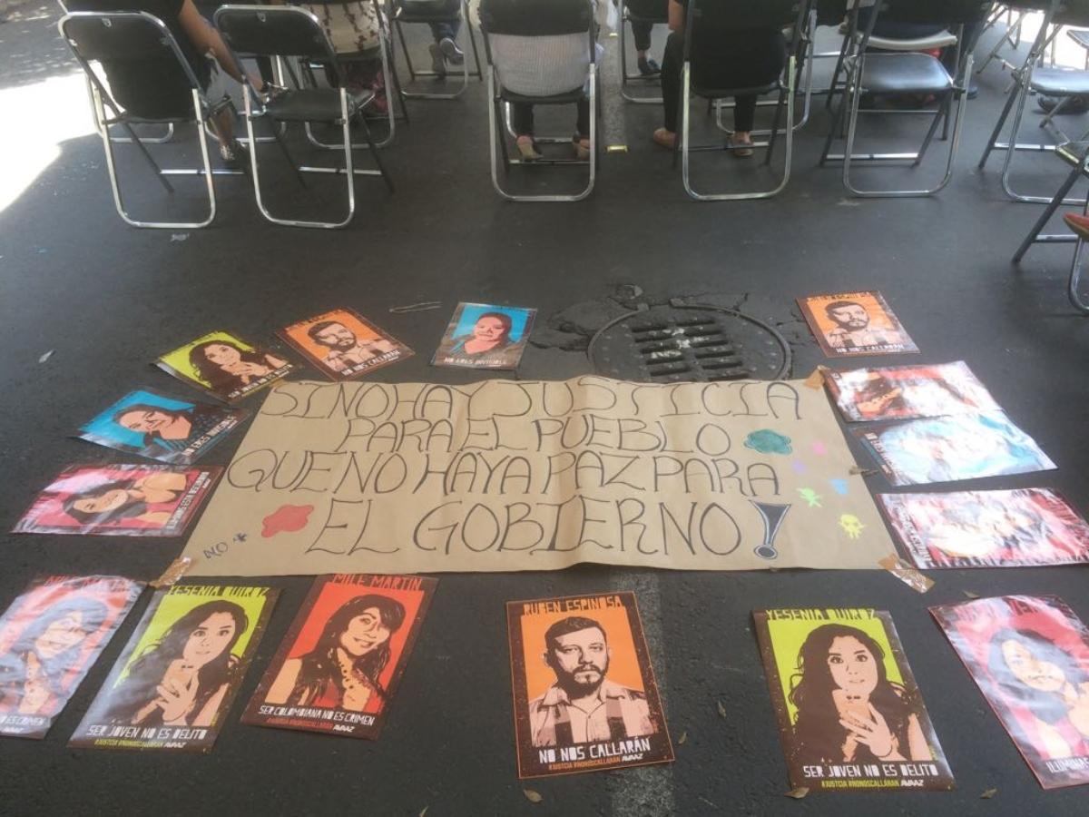 """Familiares piden a Sheinbaum y a Godoy resolver el caso Narvarte """"sin más dilaciones ni excusas"""" (Ciudad de México)"""