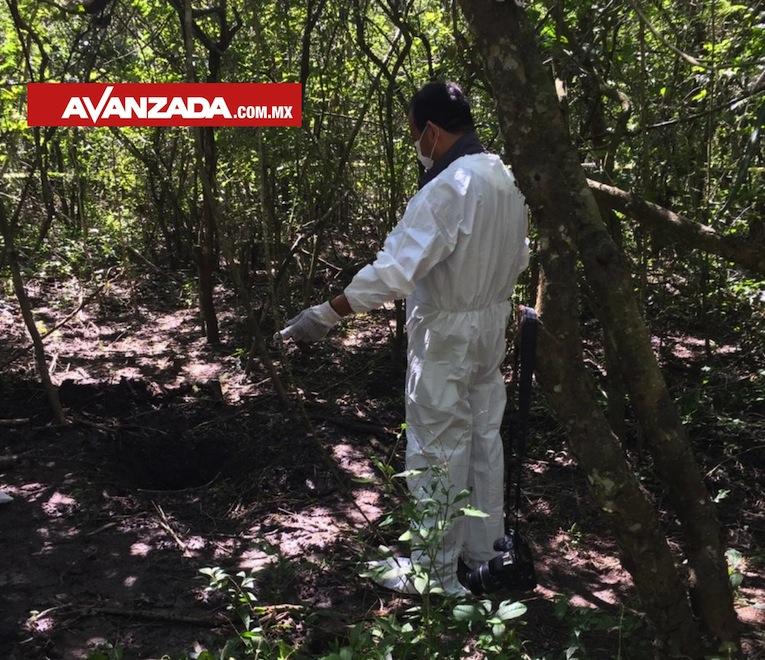 Colectivos piden a la Comisionada, presentarse en el predio donde exhuman cadáveres (Colima)