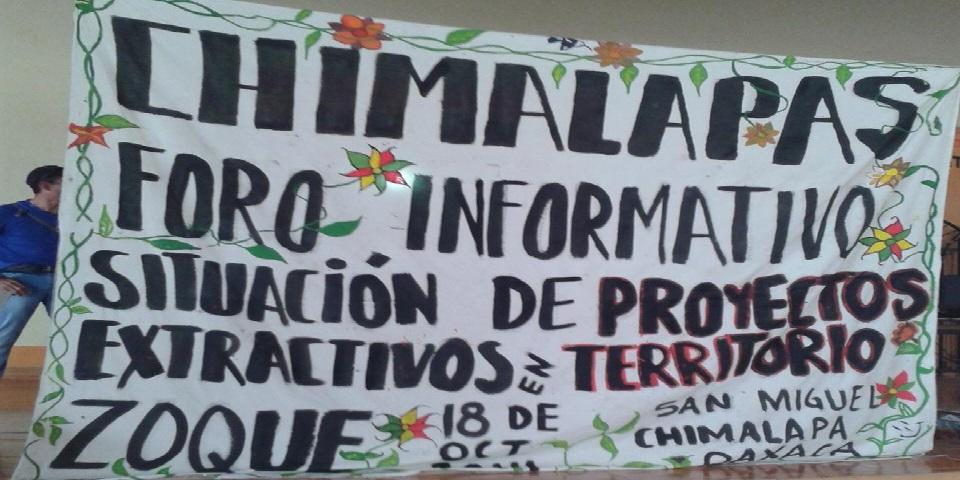 Proyectos mineros violentan la tenencia de la tierra comunal en zona de Chimalapas, acusa colectivo (Oaxaca)