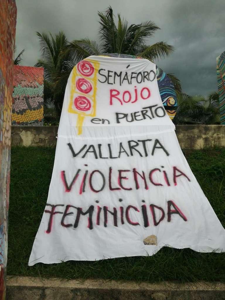 Colectivas feministas declaran en Semáforo Rojo a los municipios de Puerto Vallarta y Bahía de Banderas por violencia sexual y feminicida (Nayarit, Jalisco)