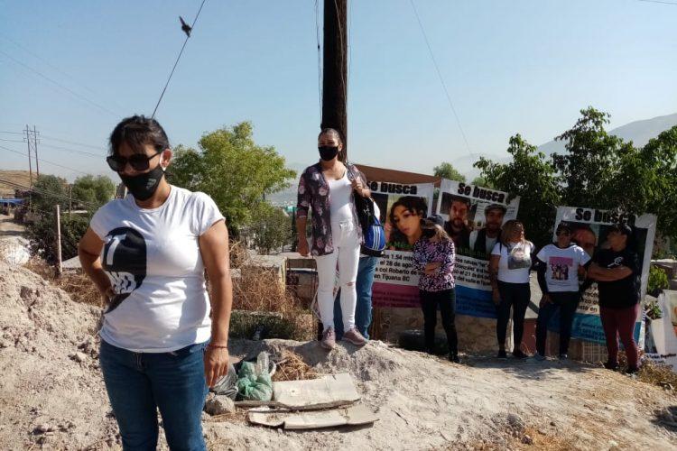 Activistas suspenden excavación por intimidación, FGE niega existencia de orden de aprehensión (Baja California)