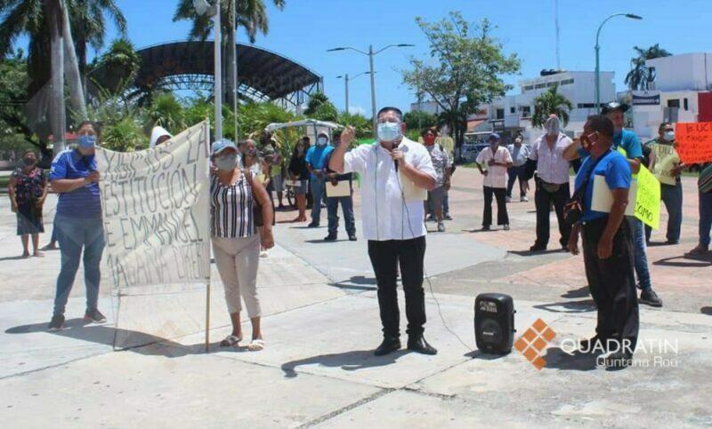 Crece conflicto entre ambulantes y autoridad en Chetumal
