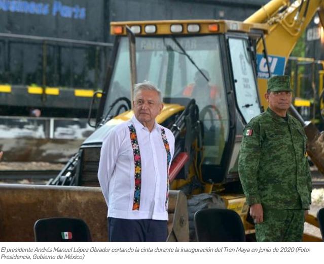 Megaproyectos Militarizados Siguen en Pie con AMLO