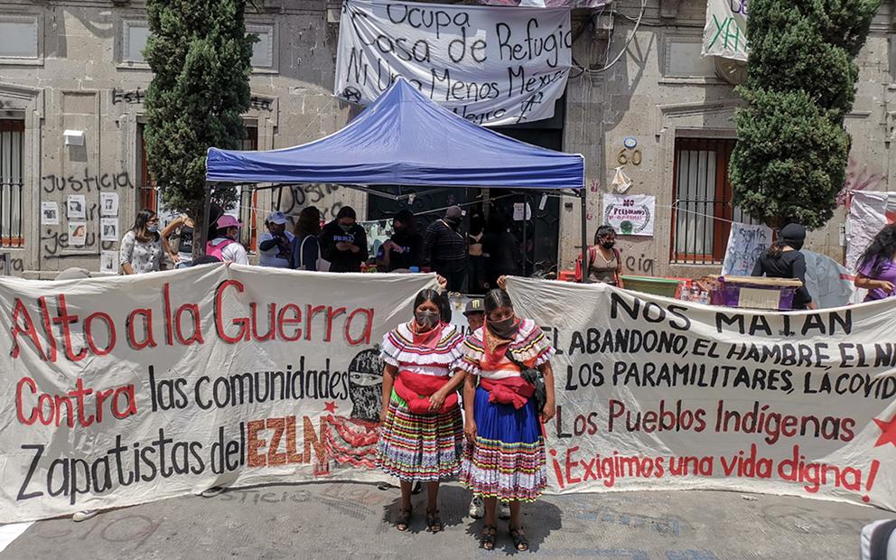 Caravana por una Vida Digna denuncia la violencia organizada en Guerrero