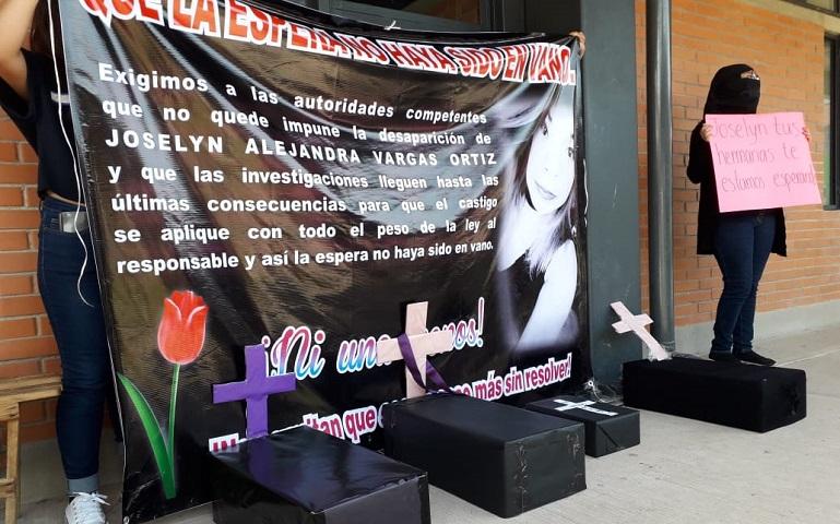 Demandan justicia para Joselyn, y castigo a feminicidas (Oaxaca)