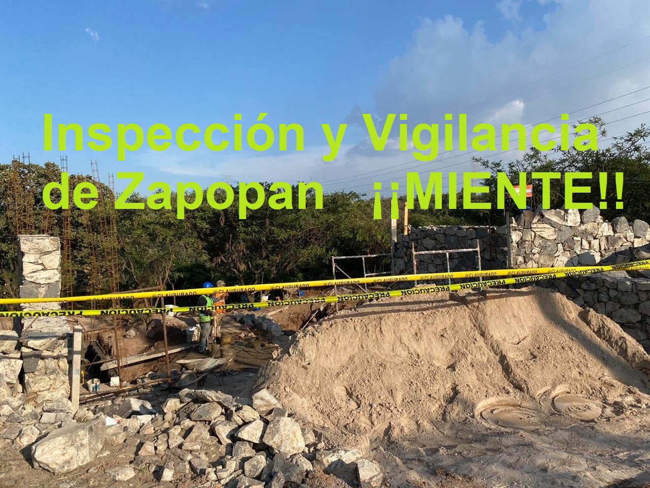 Defensores del bosque Nixticuil exigen clausura del proyecto inmobiliario El Dosel Residencial (Jalisco)