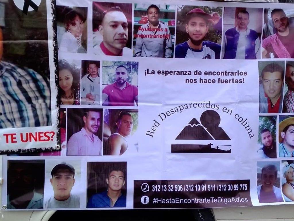 Red de Desaparecidos Colima denuncia negativa de la Fiscalía Especializada en Personas Desaparecidas de Jalisco para realizar búsquedas en campo en Tonila