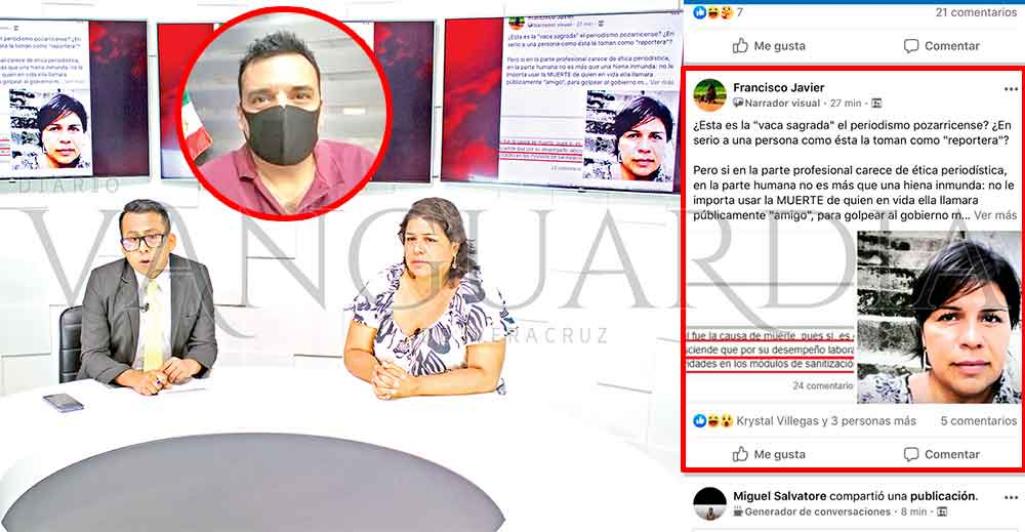 Solapa ayuntamiento violencia de género contra la periodista Lidia López (Veracruz)