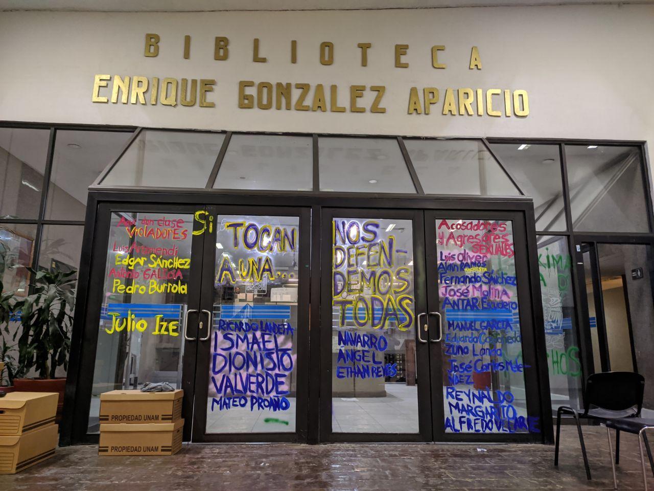 Tras 6 meses en paro contra el acoso, alumnas de Economía de la UNAM logran sus demandas (Ciudad de México)