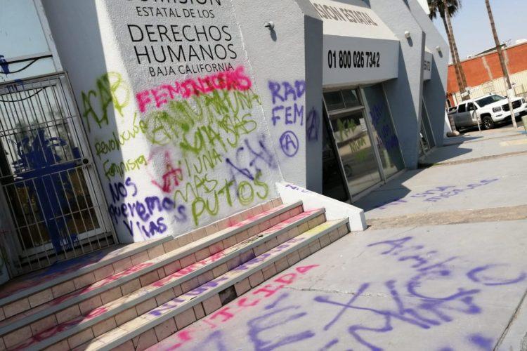 En Mexicali, la estela de la protesta feminista (Baja California)