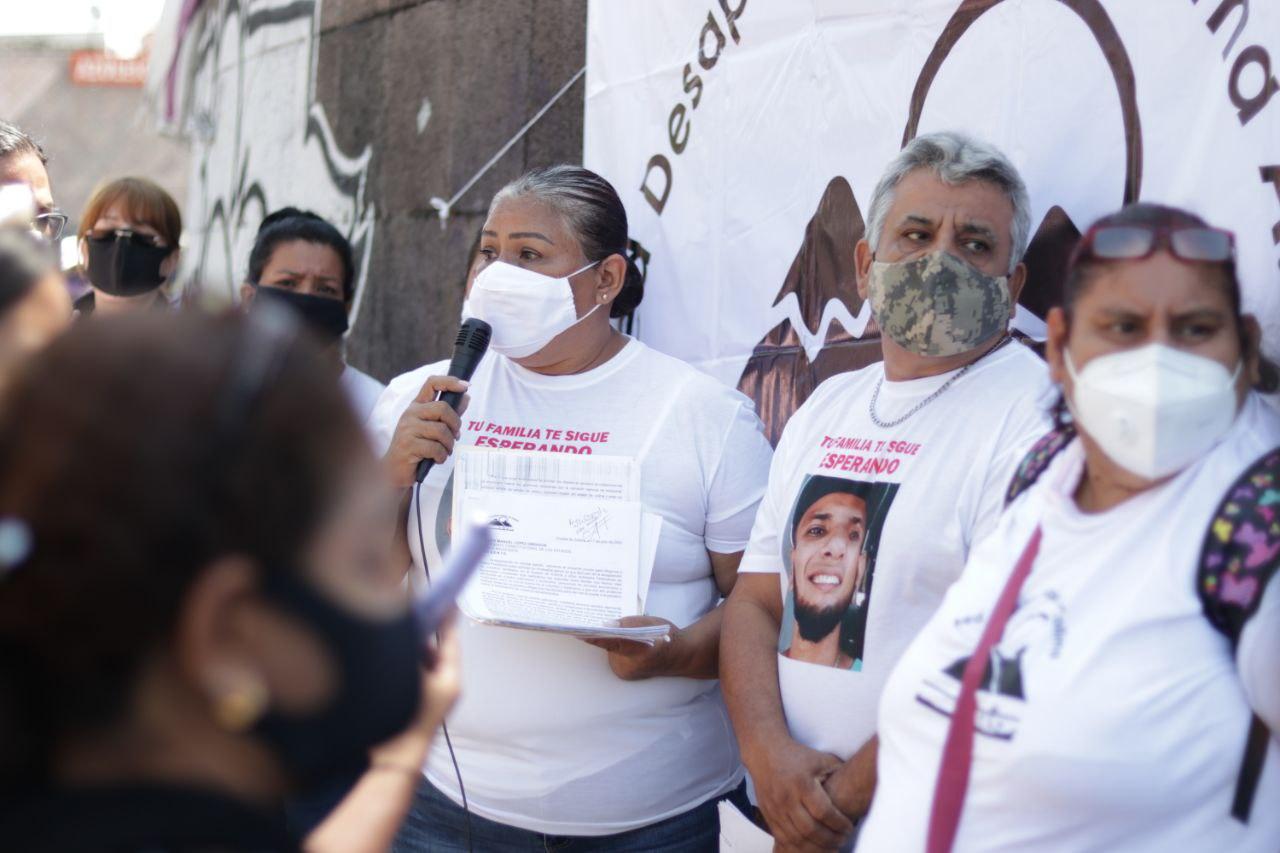 La Red Desaparecidos en Colima viajó a Jalisco para exigir la búsqueda en campo de colimenses desaparecidos en territorio jalisciense