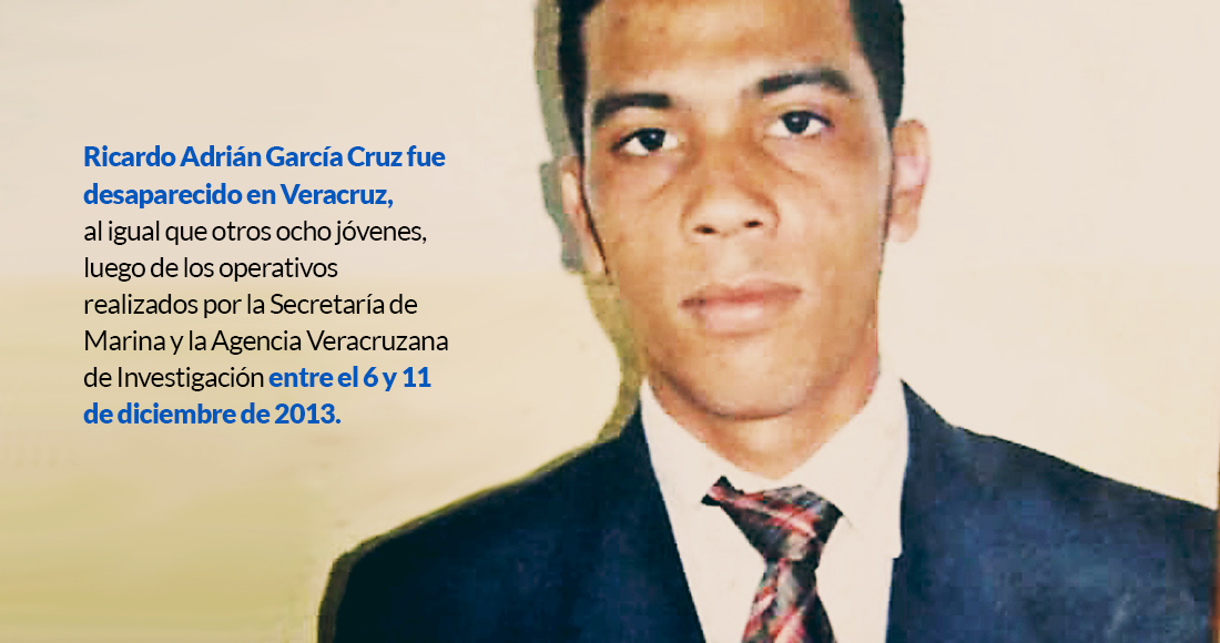 Policías de Veracruz se llevaron a Adrián mientras trabajaba. Fue en 2013 y su familia aún lo busca