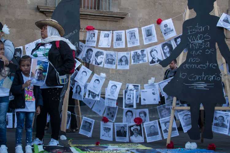 Exigen castigo por impunidad y omisiones en desapariciones (Jalisco)