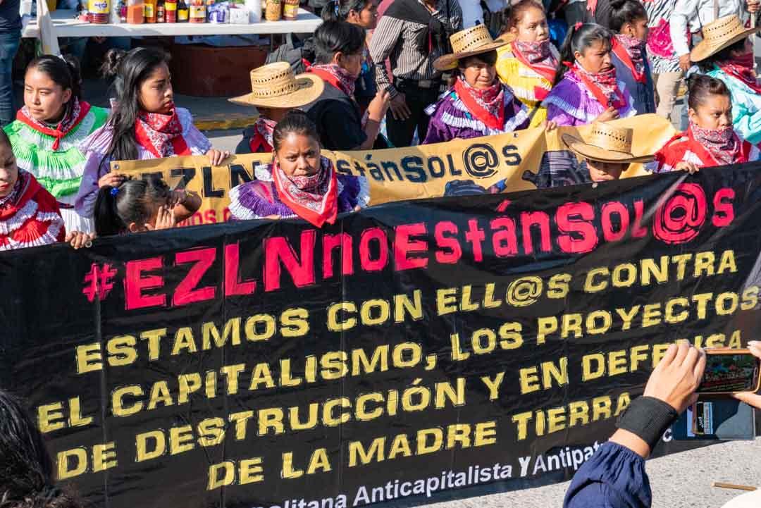 CIG convoca a movilizarse en defensa de la madre tierra y contra la guerra tras 528 años despojo